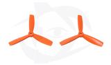 Direct Drive HQ Prop - Glass Fiber - 5x4.5x3R Orange (Bullnose)