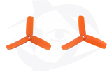 Direct Drive HQ Prop - Glass Fiber - 4x4x3R Orange (Bullnose)