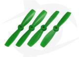 Gemfan Nylon+Glass Fill Propeller - 5 x 4.6 Green (Bullnose)