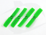 Gemfan Nylon+Glass Fill Propeller - 3.5 x 4.5 Green (Bullnose)