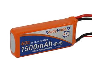 RMRC Orange Series - 1500mAh 3S 60C Lipo - T Connector (16.65Wh)