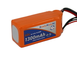 RMRC Orange Series - 1300mAh 4S 60C Lipo - XT60 (19.24Wh)
