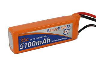 RMRC Orange Series - 5100mAh 3S 35C Lipo - T Connector (56.61Wh)