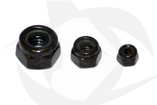 RMRC - M5 CW Black Oxide Lock Nut (10pc)