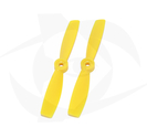 Direct Drive HQ Prop - Glass Fiber - 5X4.5R Yellow (Bullnose)