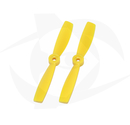 Direct Drive HQ Prop - Glass Fiber - 5X4.5 Yellow (Bullnose)