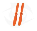 Direct Drive HQ Prop - Glass Fiber - 5.5X4.5R Orange (Bullnose)