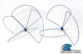 VAS - 900MHz Bluebeam Omni Antenna Set (RHCP)