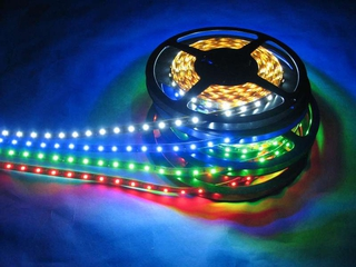RMRC LED Strip with Adhesive Backing - Blue 1M