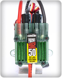 Castle Creations Phoenix Edge 50 Brushless ESC, 34V Max. w/BEC