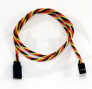 60cm (24 inch) JR Style 22AWG Twisted Servo Cable