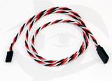 60cm (24 inch) Futaba Style 22AWG Twisted Servo Cable