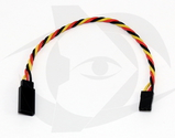 15cm (6 inch) JR Style 22AWG Twisted Servo Cable