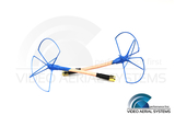 VAS - 2.4 GHz Bluebeam Whip Antenna Set RHCP - Straight