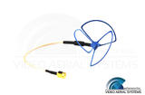 VAS - 2.4 GHz Cloverleaf Antenna RHCP - Side Feed