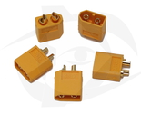 XT60 Connector - Male (Female Housing, Male Bullet) (5 pcs)