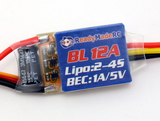 RMRC - BLHeli 12A ESC w/ 1A BEC (2-4s)
