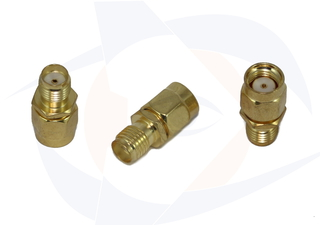 RP SMA Male to SMA Female Adapter