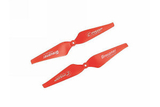 "Graupner C-Prop 10""x4.6"" SET (1xCW+1xCCW)(RED)"