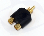 RCA Audio Splitter Male to 2 Female