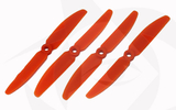 Gemfan Glass Fill Propeller - 5 x 3 (4PCS, CW & CCW) ORANGE