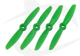 Gemfan Glass Fill Propeller - 4 x 4.5 (4PCS, CW & CCW) GREEN