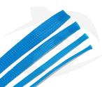RMRC - Braided Mesh - 6mm Bright Blue - 1m Section