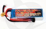 Gens Ace 2200mAh 3S 45C Lipo Pack - T-Connector (Wh 24.4)
