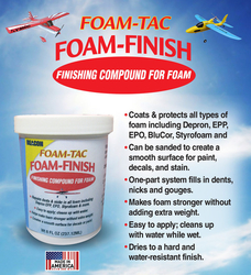 Bac foam finish