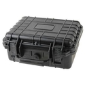"Weatherproof Equipment Case - 10x9x4"" Black"