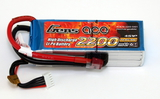 Gens Ace 2200mAh 4S 30C Lipo Pack - T-Connector (Wh 32.56)