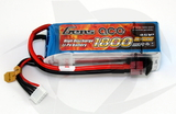 Gens Ace 1800mAh 4S 25C Lipo Pack - T-Connector (Wh 26.6)