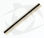 Pin Headers - 1 Row, Straight (40 Pins, 2.54 spacing)