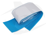 Hook & Loop Tape with Adhesive Backing - BLUE (75mm x 1m)