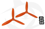 Direct Drive HQ Prop - Glass Fiber - 6x4.5x3R Orange
