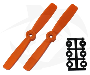 Reversible ESC Prop - Glass Fiber - 3D-5x4.5R Orange