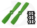 Direct Drive HQ Prop - Glass Fiber - 4x4.5R Green (Bullnose)