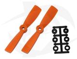 Direct Drive HQ Prop - Glass Fiber - 4x4.5R Orange (Bullnose)