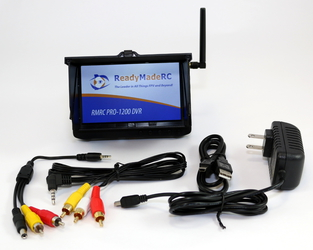 "RMRC Pro-1200 5"" FPV DVR w/5.8GHz Receiver with Race Band"