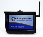 """RMRC Pro-1200 5"""" FPV DVR w/5.8GHz Receiver with Race Band"""