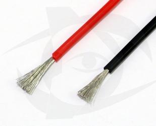 Premium Silicone Wire - 20ga Black, 1m