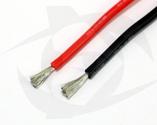 Premium Silicone Wire - 18ga Black, 1m