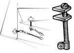 DuBro Adjustable Control Horns (QTY/PKG: 2) #493