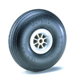 "Dubro - 2-1/4"" Dia. Treaded Lightweight Wheel (2)"