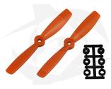 Direct Drive HQ Prop - Glass Fiber - 5X4.5 Orange (Bullnose)