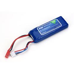 Battery - 800mAh 2S 7.4V 30C LiPo, 18AWG JST EFLB8002SJ30