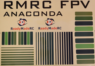 RMRC Anaconda - Snake Decal Kit - GREEN