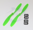 Slow Fly HQ Prop - Glass Fiber - 8x4.5R Green