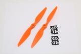 Multirotor HQ Prop - Glass Fiber - 8x4.5 Orange