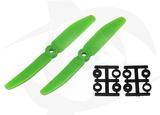 Direct Drive HQ Prop - Glass Fiber - 5X4R Green